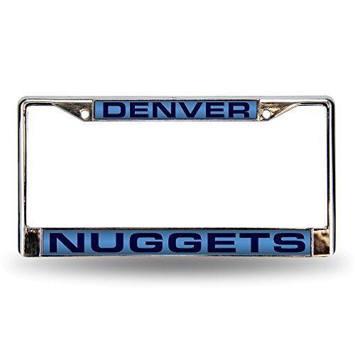 NBA Denver Nuggets Laser Cut Chrome Plate Frame