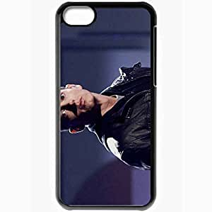 Personalized iPhone 5C Cell phone Case/Cover Skin Eminem Black
