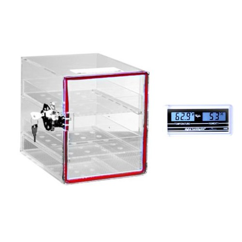 Dynalon 143094-0001 Large Acrylic Desiccator Cabinet with...