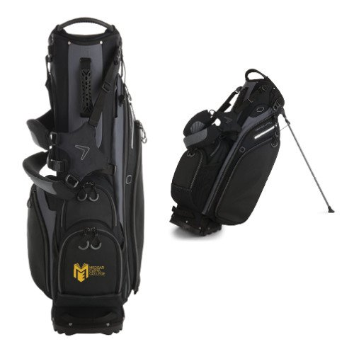 Medgar Evers College Callaway Hyper Lite 5 Black Stand Bag 'Official Logo' by CollegeFanGear