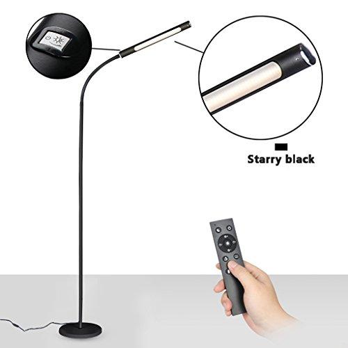 Flow Table Lamp 1 Light (LED Floor Lamp, Eye Protection Desk Lamp, Living Room Bedroom Study, Simple Piano Reading Eye Protection Vertical Table Lamp, 12W)