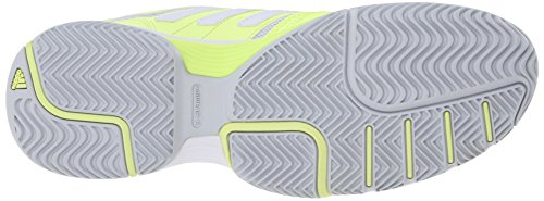 Adidas Performance Kvinner Barrikaden Domstol W Tennis Sko Frosset Gul / Hvit / Klar Grå