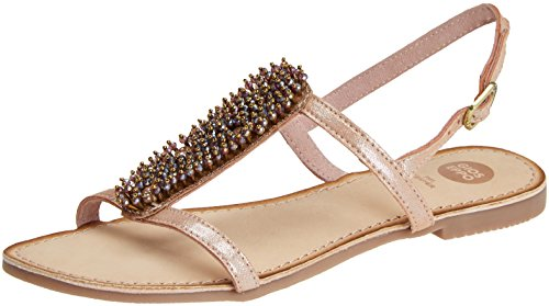 Gioseppo 45308, Sandales Bout Ouvert Femme Beige (Nude)