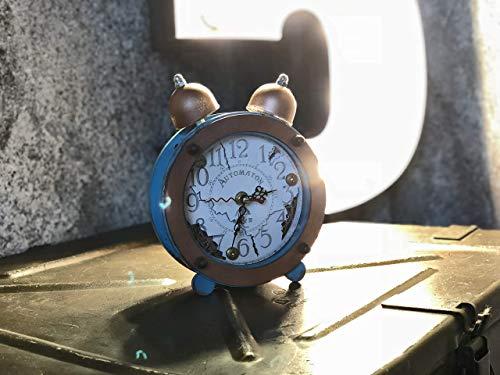 Steampunk Table Clock Loire Handcrafted Shabby Chic Interior Design Woodandroot Alarm Clocks Clock Radios Home Garden Pumpenscout De