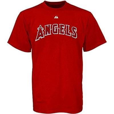 Los Angeles Angels of Anaheim Wordmark Red T-Shirt