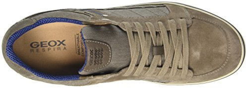 F Box da Taupec6029 Beige Basse Ginnastica Scarpe Uomo Geox U 1B7xgqwUZ