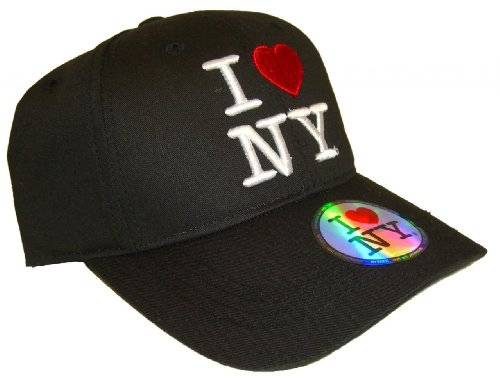 I Love NY Cap - Color: Black