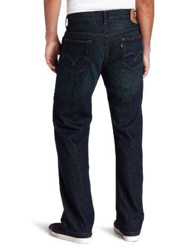 Levi's Men's 569 Loose Straight Leg Jean, Kale, 34W x 30L