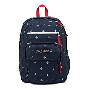 JanSport Digital Student Backpack RED TAPE/LAND AHOY