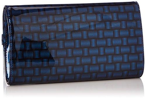 Armani Jeans Shoes & Bags De - B5229V3, Frizione da donna, blu (blu - blue 5x), 25x14x4 cm (B x H x T)