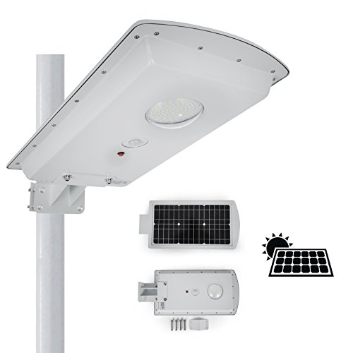 Pole Mounted Solar Security Light in Florida - 2