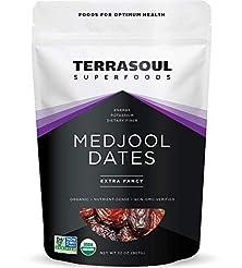 Terrasoul Superfoods Organic Medjool Dat...