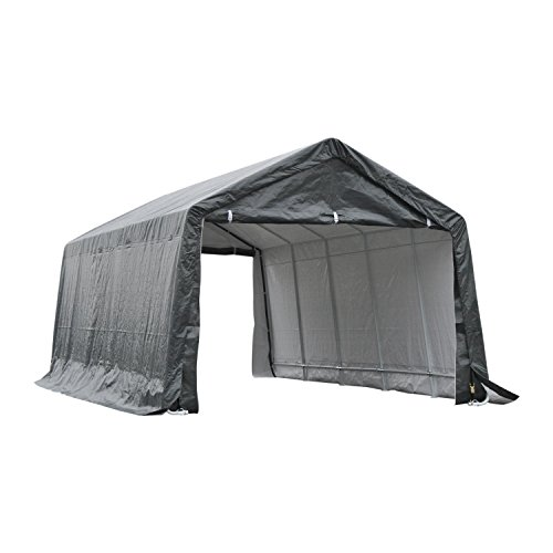 Outsunny 20' x 12' Heavy Duty Temporary Outdoor Carport Canopy Tent - - Shelter Carport Boat