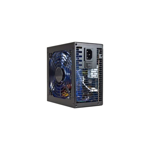 Cool Power Gamer Series CP G880 880W 20+4 pin Blue LED Fan ATX Power Supply w/SATA, PCI E& Dual 12V Rails (Black)