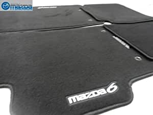 mazda 6 2009 2013 new oem floor black carpet. Black Bedroom Furniture Sets. Home Design Ideas