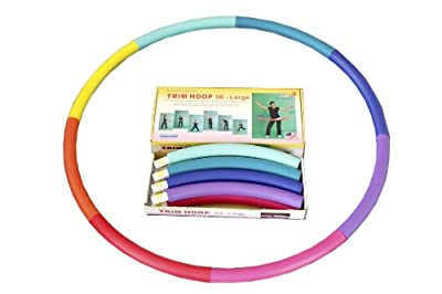 Weighted Sports Hula Hoop for Weight Loss - Trim Hoop 3B 3 lb. No Ridge, Travel Easy and Easy to Assemble/disassemble from Sports Hoop Inc.