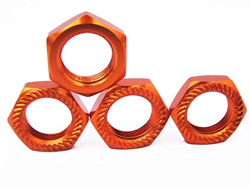 (1/8 17mm P1.0MM wheel nuts for Kyosho, Team Magic, Mugen, Xray, Losi £¨self-locking)4PCS)