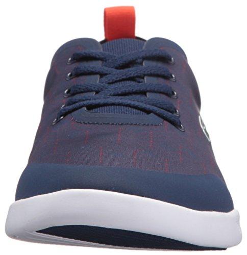 Lacoste Women's Avenir 417 2 Sneaker, Blue, 5 M US