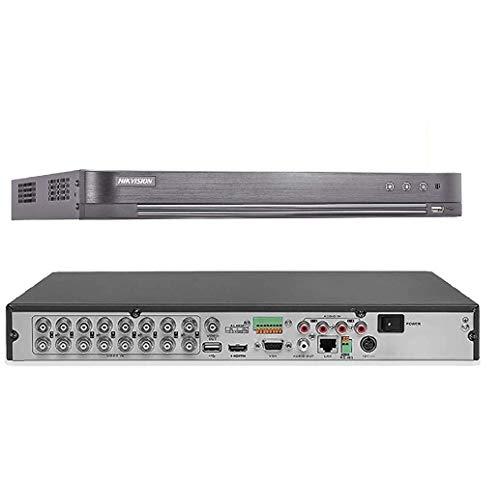 Hikvision 16CH 5.0MP Ultra HD HUHI DVR Digital Video Recorder Supporting the 5 MP CCTV Surveillance Cameras 4K Ultra HD…