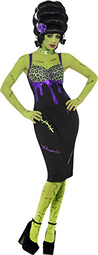 Rock The Ship Pirate Adult Costumes (Smiffys Women's Pin Up Frankenstein Costume)