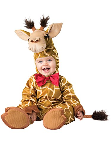 Halloween Costumes Animal Baby Cute (Fun World Baby Cuddly Giraffe Costume, Tan Camel,)