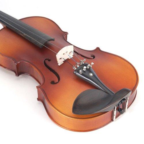 Cecilio CVA-500 16.5-Inch Ebony Fitted Solid Wood Viola by Cecilio (Image #4)