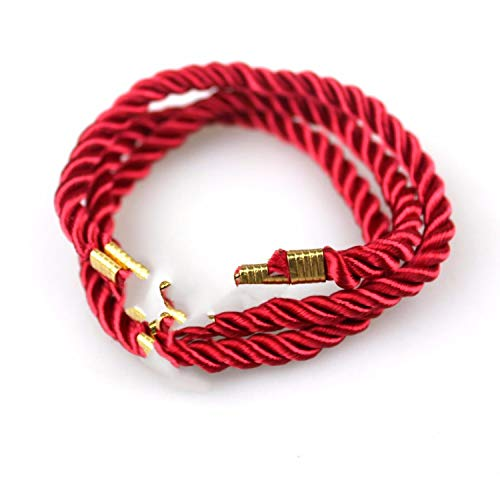 Tea language Fashion Sport Camping Parachute Cord Men Women Nautical Survival Rope Chain Bracelet Summer Style