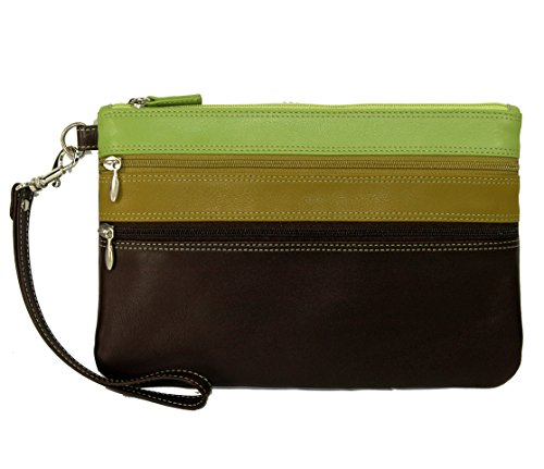 belarno-large-trizip-multi-color-clutch-in-black-rainbow-combination-brown