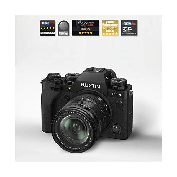 RetinaPix Fujifilm X-T4 26MP Mirrorless Camera Body with XF18-55mm Lens