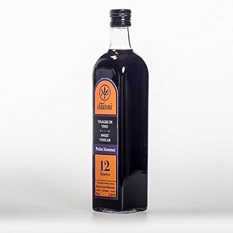 BOTELLA DE VINAGRE BALSAMICO PEDRO XIMENEZ RESERVA 12 AÑOS SOTARONI 750 ml: Amazon.es: Alimentación y bebidas