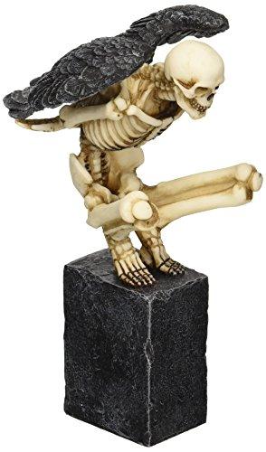 Design Toscano Twilight Roost Winged Skeleton Statue