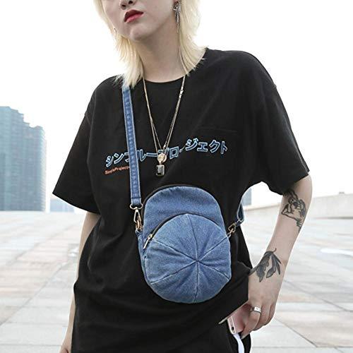 Bolso Widewing mujer para Oscuro al de vaquero hombro Azul dUUr4q