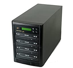 Copystars 500GB Hard drive Smart+USB3.0 SATA 4 Burners drive CD-DVD-Duplicator copier