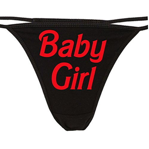 4946c7aa7771 Knaughty Knickers - Daddy's Baby Girl Thong Underwear - Cute Panties for  Daddys Princess - DDLG