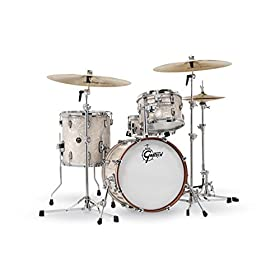 Gretsch Drums Renown 4-piece Jazz Shell Pack with Matching Snare - Vintage Pearl 4