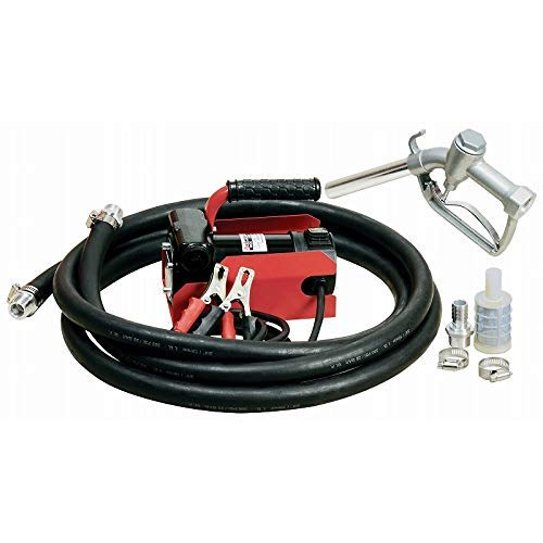 12v Fuel Transfer Pump - FUELWORKS Electric Diesel Fuel Transfer Pump Kit, 12 Volts & 10 GPM; NOT For Gasoline