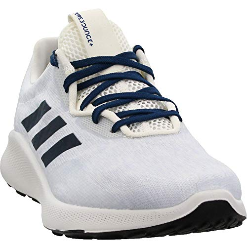 adidas Mens Purebounce+ Street Running Casual Shoes, White, 8.5