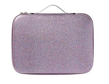 Ulta Beauty Gorgeous On The Go 93 Piece Collection Rainbow Glitter Gift Set Zippered Train Case