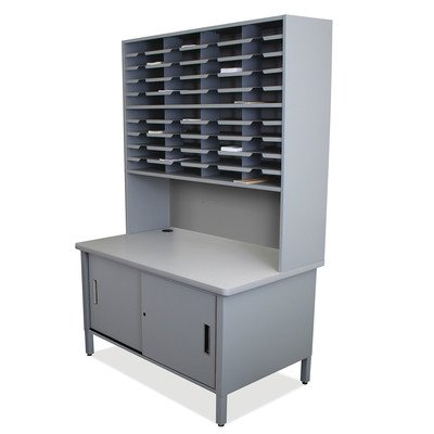 Mailroom 40 Slot Organizer with Cabinet Finish: Slate Gray by Marvel (Image #1)