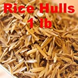 E.C. Kraus Flaked Grains Size Rice Hulls – 1 LB