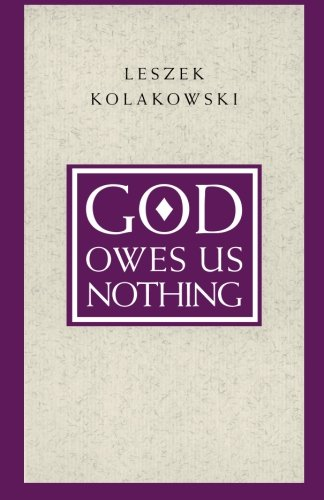 God Owes Us Nothing  A Brief Remark On Pascals Religion And On The Spirit Of Jansenism