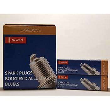 6 PCS *NEW* -- DENSO #3381 -- U-GROOVE - Standard Spark Plugs -- K20HR-U11