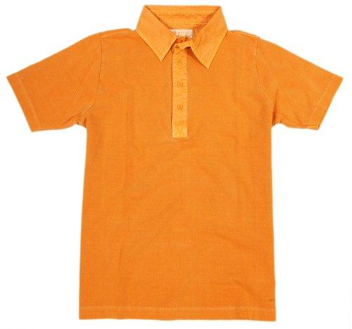 Alpha by Massimo Rebecchi Herren Polo Shirt CASERTA 10041381-Orange