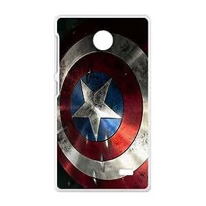 Captain America Shield Brand New And Custom Hard Case Cover Protector For Nokia Lumia X