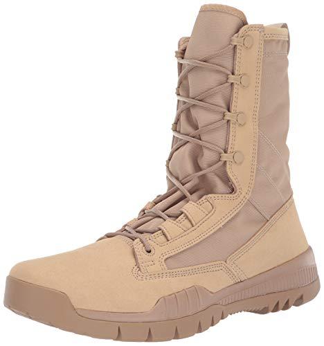Nike Mens SFB Field 8 Leather British Khaki/British Khaki Boot 12 Men US - Khaki Mens Boots