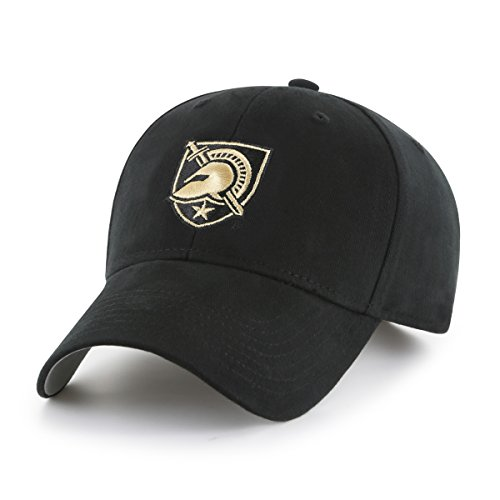 Cap Ncaa Black (OTS NCAA Army Knights Children Cinch All-Star MVP Adjustable Hat, Kids, Black)
