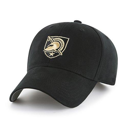 Visor Military Style Cap (OTS NCAA Army Black Knights Kid's Cinch All-Star Adjustable Hat, Black, Kid's)