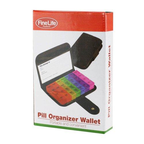 Pill Organizer Wallet Best Back to School College Supplies