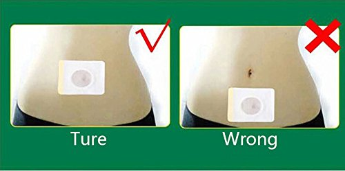 40Pcs Slimming Patch Magnetic Weight Navel Stick Patch Chinese for Slimming Products to Weight Loss Fat Burning C678