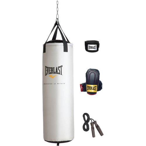 Everlast 80Lb Heavy Bag Kit by Everlast